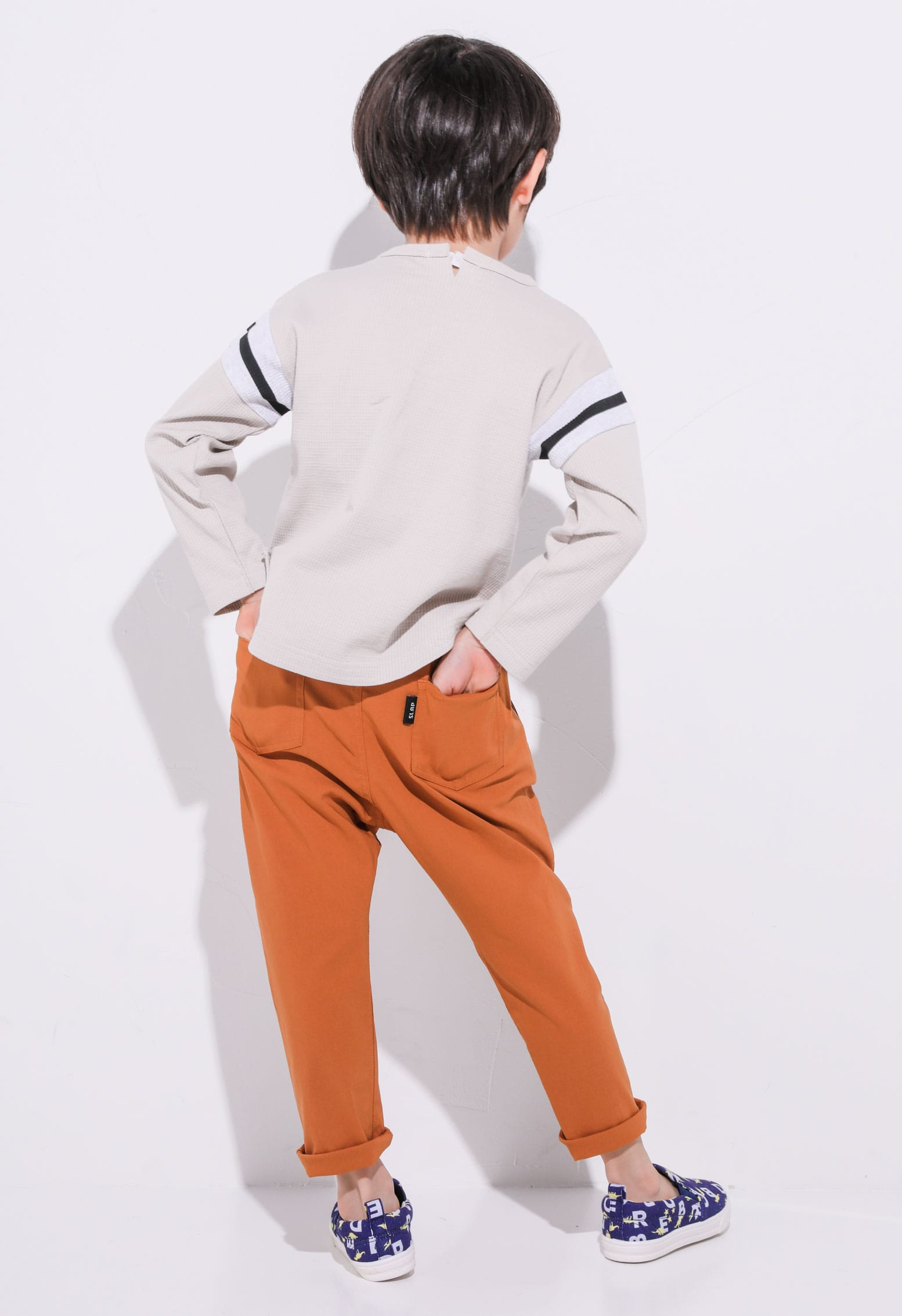 STRETCH PANTS ORANGE